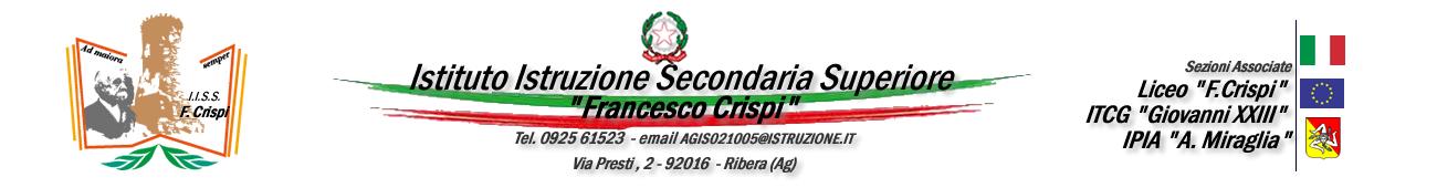 "Istituto Istruzione Secondaria Superiore ""Francesco Crispi""  - Ribera (Ag)"